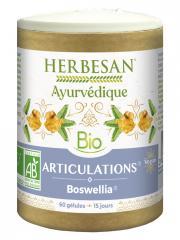 Herbesan Ayurvédique Bio Articulations Boswellia 60 Gélules - Pilulier 60 Gélules