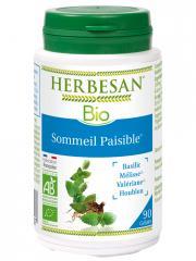 Herbesan Bio Sommeil Paisible 90 Gélules - Pot 90 Gélules