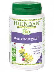 Herbesan Bio Bien-être Digestif 90 Gélules - Pot 90 Gélules