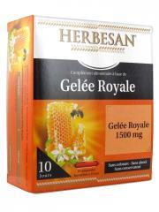 Herbesan Gelée Royale 1500 mg 10 Ampoules - Boîte 10 Ampoules de 15 ml