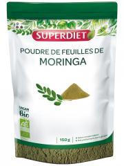 Super Diet Poudre de Feuilles de Moringa Bio 150 g - Sachet 150 g