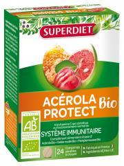 Super Diet Acérola Protect Bio 24 Comprimés - Boîte 24 Comprimés