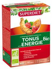 Super Diet Tonus et Énergie Bio 60 Gélules - Boîte 60 Gélules