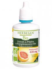 Herbesan Bio Extrait de Pépins de Pamplemousse Bio 50 ml - Flacon 50 ml