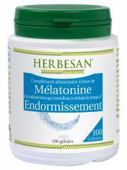 Herbesan Mélatonine 100 Gélules - Pot 100 Gélules