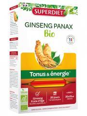 Super Diet Ginseng Bio 20 Ampoules - Boîte 20 Ampoules de 15 ml