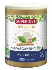 Super Diet Ayurveda Ashwagandha Relaxation Bio 60 Gélules - Pilulier 60 Gélules