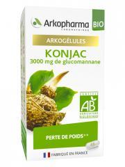 Arkopharma Arkogélules Konjac Bio 45 Gélules - Pot 45 Gélules