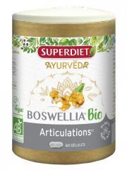 Super Diet Ayurveda Boswellia Articulations Bio 60 Gélules - Pilulier 60 Gélules