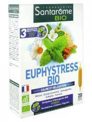 Santarome Bio Euphystress Bio 20 Ampoules - Boîte 20 ampoules de 10 ml
