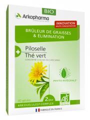 Arkopharma Brûleur de Graisses et Élimination Bio 40 Gélules - Boîte 40 gélules