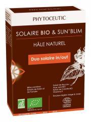 Phytoceutic Solaire Bio 120 Comprimés + Sun'Blim Émulsion Légère Visage et Corps 150 ml - Boîte 120 Comprimés + 150 ml