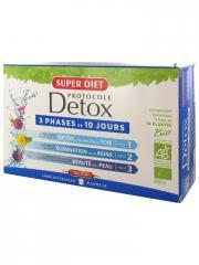 Super Diet Protocole Detox Bio 30 Ampoules - Boîte 30 ampoules de 15 ml