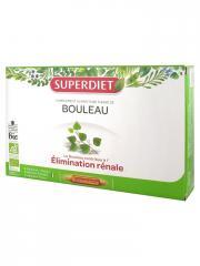 Super Diet Bouleau Bio 20 Ampoules - Boîte 20 Ampoules de 15 ml
