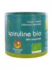 Flamant Vert Spiruline Bio 500 Comprimés de 500 mg - Pot 250 g