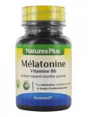 Natures Plus Mélatonine Vitamine B6 30 Comprimés - Flacon 30 comprimés
