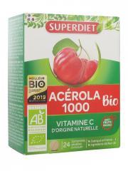 Super Diet Acérola 1000 Bio 24 Comprimés - Boîte 24 comprimés
