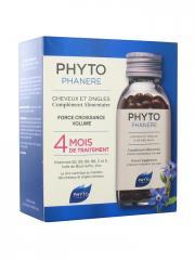 Phyto Phytophanère Cheveux et Ongles 4 Mois de Traitement 240 Capsules - Lot 2 x 120 Capsules