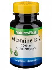 Natures Plus Vitamine B12 Action Prolongée 60 Comprimés - Flacon 60 comprimés