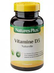 Natures Plus Vitamine D3 90 Comprimés Sécables - Flacon 90 comprimés