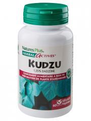 Natures Plus Herbal Actives Kudzu 60 Gélules Végétales - Flacon 60 gélules