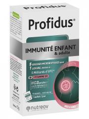 Nutreov Profidus Immunité Enfant & Adulte 10 Sachets - Boîte 10 Sachets