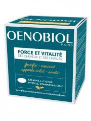 Oenobiol Force et Vitalité des Cheveux et des Ongles 60 Capsules - Pot 60 Capsules