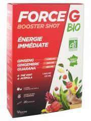 Nutrisanté Force G Booster Shot Bio 20 Ampoules - Boîte 20 ampoules de 10 ml