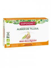 Super Diet Aubier de Tilleul Bio 20 Ampoules - Boîte 20 ampoules de 15 ml
