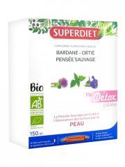 Super Diet Ma Détox Ciblée Peau Bio 10 Ampoules - Boîte 10 Ampoules de 15 ml