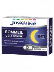 Juvamine Sommeil Mélatonine 30 Comprimés - Boîte 30 comprimés