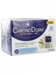 Laboratoires IPRAD ChronoDorm Mélatonine 1 mg 20 Sachets - Boîte 20 sachets