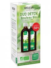 Weleda Duo Détox Jus de Bouleau Bio 2 x 250 ml + Bouteille Offerte - Coffret 500 ml