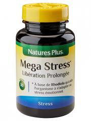 Natures Plus Mega Stress Libération Prolongée 30 Comprimés - Flacon 30 comprimés