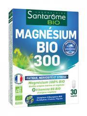 Santarome Bio Magnésium Bio 300 30 Comprimés - Boîte 30 Comprimés