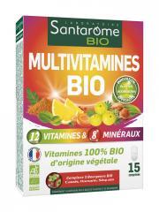 Santarome Bio Multivitamines Bio 15 Comprimés - Boîte 15 Comprimés