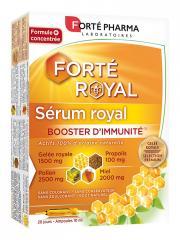 Forté Pharma Sérum Royal Booster d'Immunité 20 Ampoules - Boîte 20 Ampoules de 10 ml