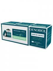 Oenobiol Chute de Cheveux Lot de 3 x 60 Capsules dont 60 Offertes - Lot 3 x 60 Capsules