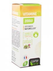 Santé Verte Vitamine D3 200UI 15 ml - Flacon 15 ml