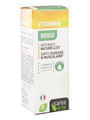 Santé Verte Vitamine D3 800UI 15 ml - Flacon compte goutte 15 ml