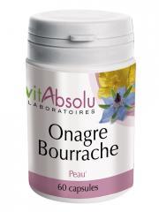VitAbsolu Onagre Bourrache 60 Capsules - Pot 60 capsules