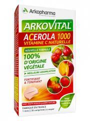 Arkopharma Arkovital Acerola 1000 30 Comprimés - Boîte 30 comprimés