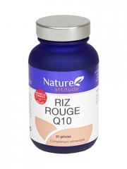 Nature Attitude Riz Rouge Q10 30 Gélules - Pot 30 Gélules