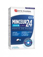 Forté Pharma Minceur 24 Men Jour et Nuit 28 Comprimés - Boîte 28 Comprimés