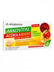 Arkopharma Arkovital Acerola Boost 24 Comprimés - Boîte 24 Comprimés
