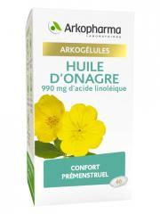 Arkopharma Arkogélules Huile d'Onagre Bio 60 Gélules - Pot 60 Gélules