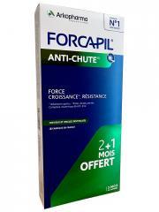 Arkopharma Forcapil Anti-Chute Lot de 3 x 30 Comprimés - Boîte Lot de 3 x 30 comprimés
