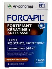 Arkopharma Forcapil Fortifiant Kératine+ 60 Gélules - Pot 60 gélules