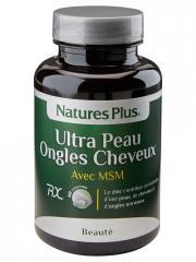 Natures Plus Ultra Peau Ongles Cheveux Avec MSM 60 Comprimés - Flacon 60 comprimés