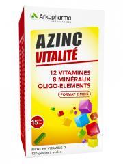 Arkopharma Azinc Forme et Vitalité 120 Gélules - Boîte plastique 120 gélules